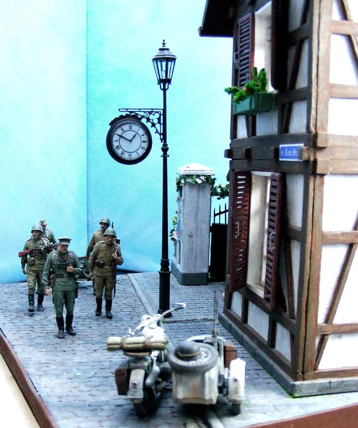 Диорамы и виньетки: 1945 г. Где-то в Германии, фото #12