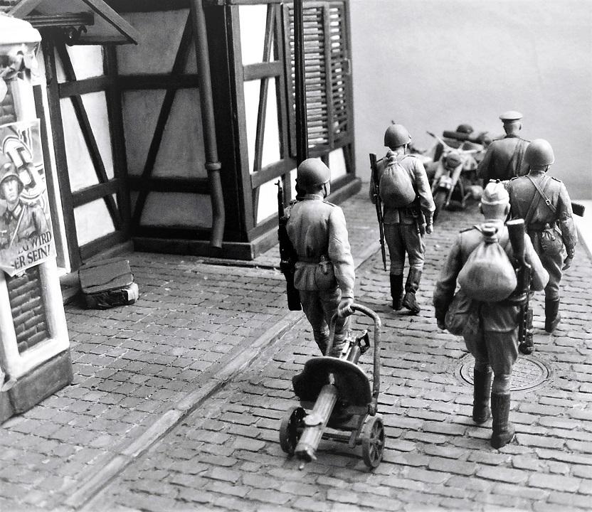 Диорамы и виньетки: 1945 г. Где-то в Германии, фото #13