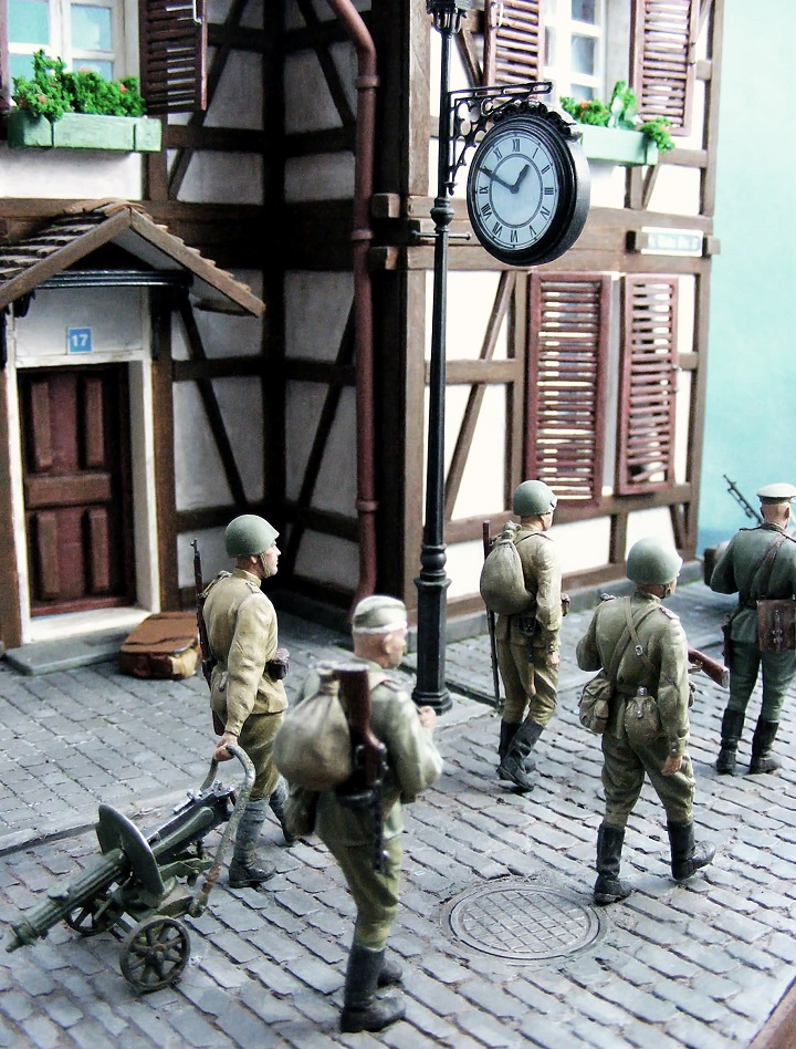 Диорамы и виньетки: 1945 г. Где-то в Германии, фото #14
