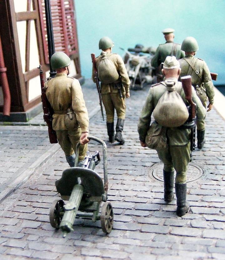 Диорамы и виньетки: 1945 г. Где-то в Германии, фото #16
