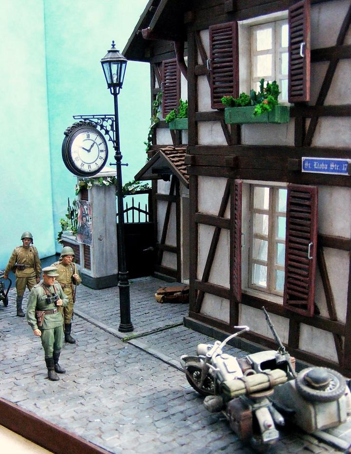 Диорамы и виньетки: 1945 г. Где-то в Германии, фото #2