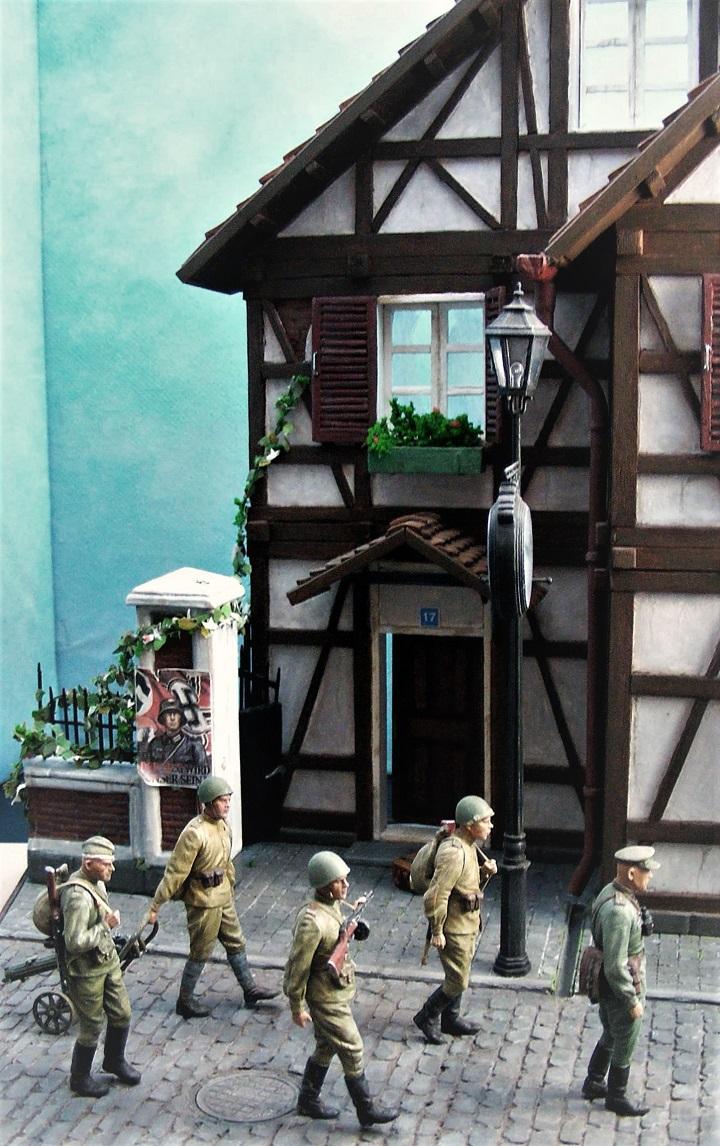 Диорамы и виньетки: 1945 г. Где-то в Германии, фото #3