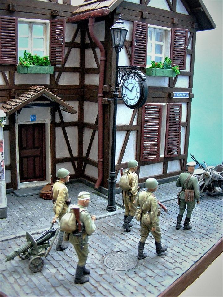 Диорамы и виньетки: 1945 г. Где-то в Германии, фото #4