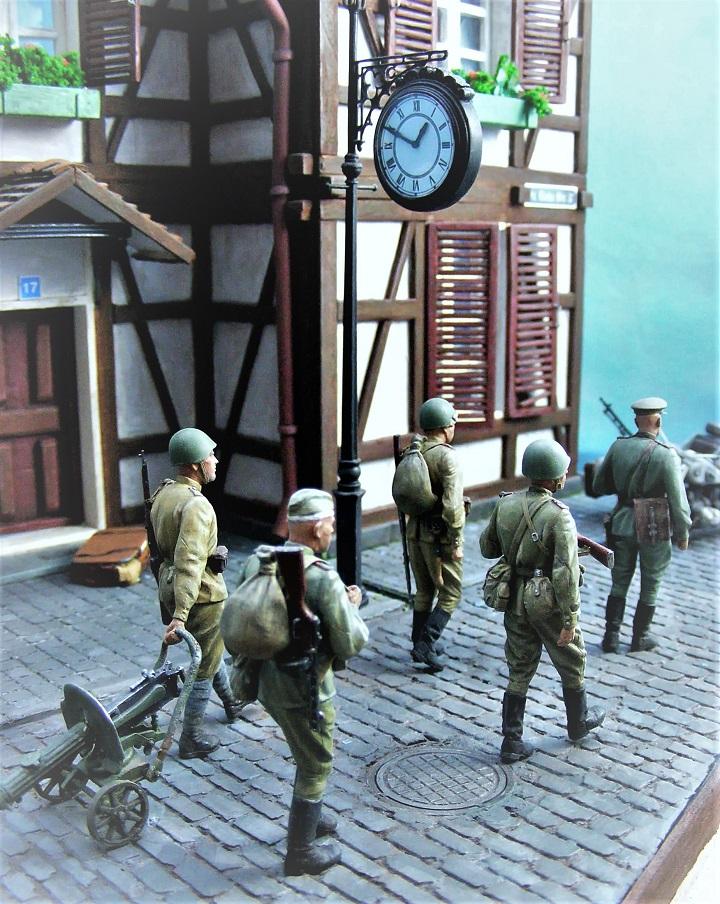 Диорамы и виньетки: 1945 г. Где-то в Германии, фото #8