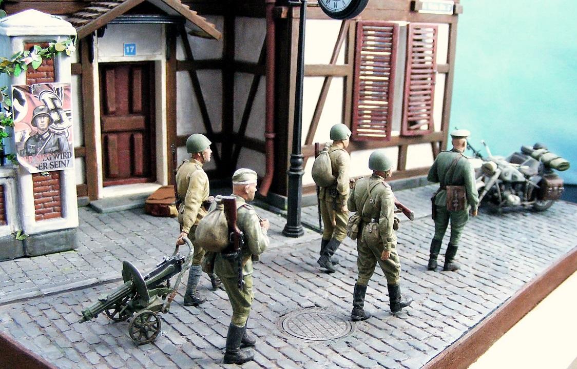 Диорамы и виньетки: 1945 г. Где-то в Германии, фото #9