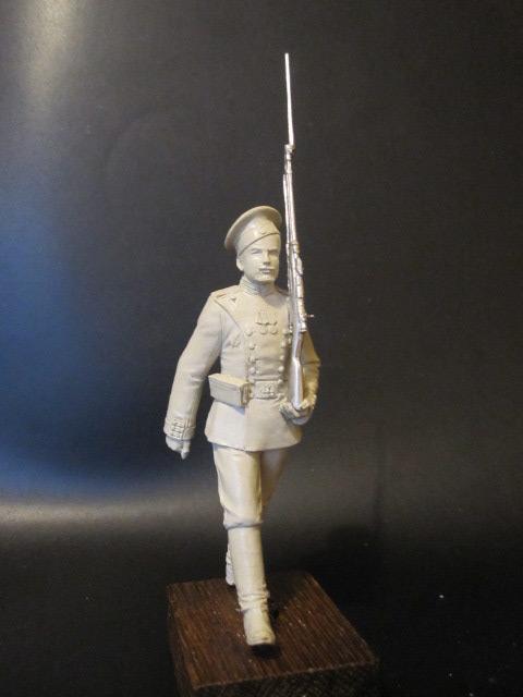 Скульптура: Гвардеец, 1913 г., фото #1