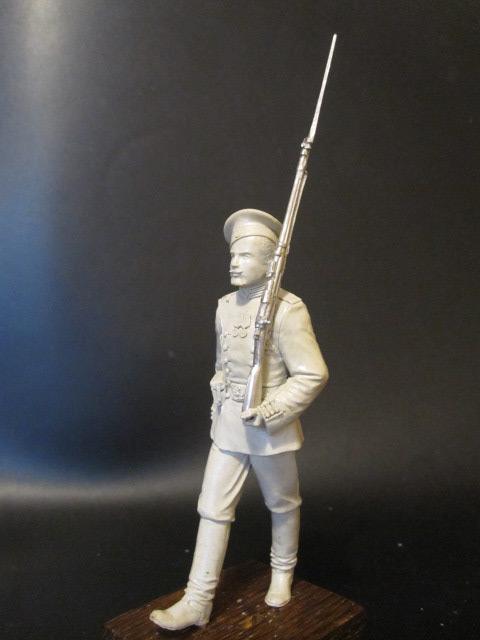 Скульптура: Гвардеец, 1913 г., фото #6