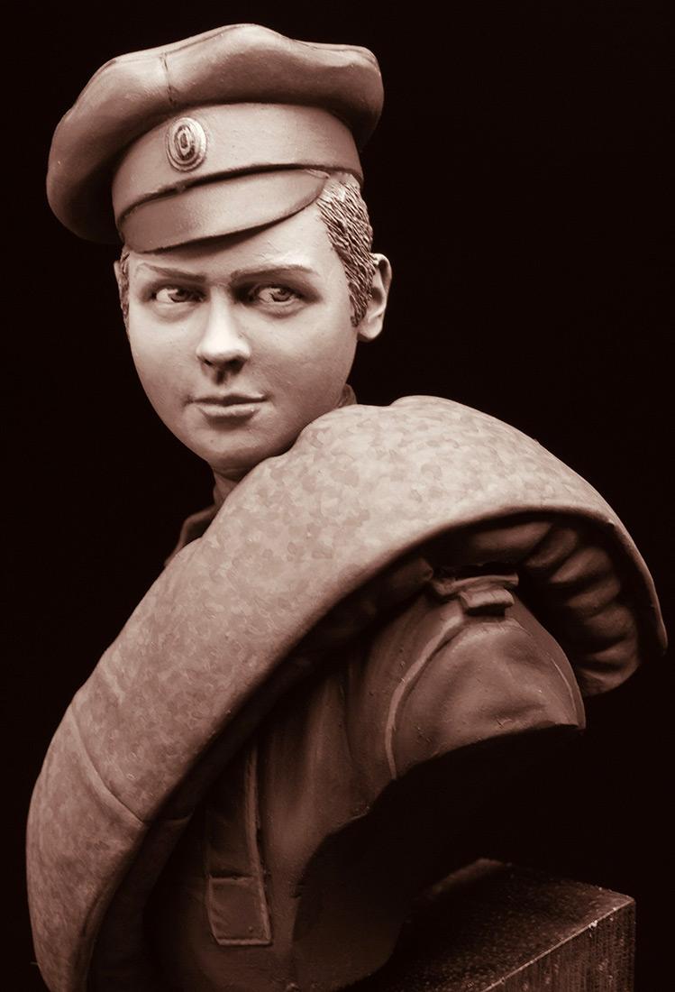 Фигурки: Боец женского батальона смерти, 1917 г., фото #11
