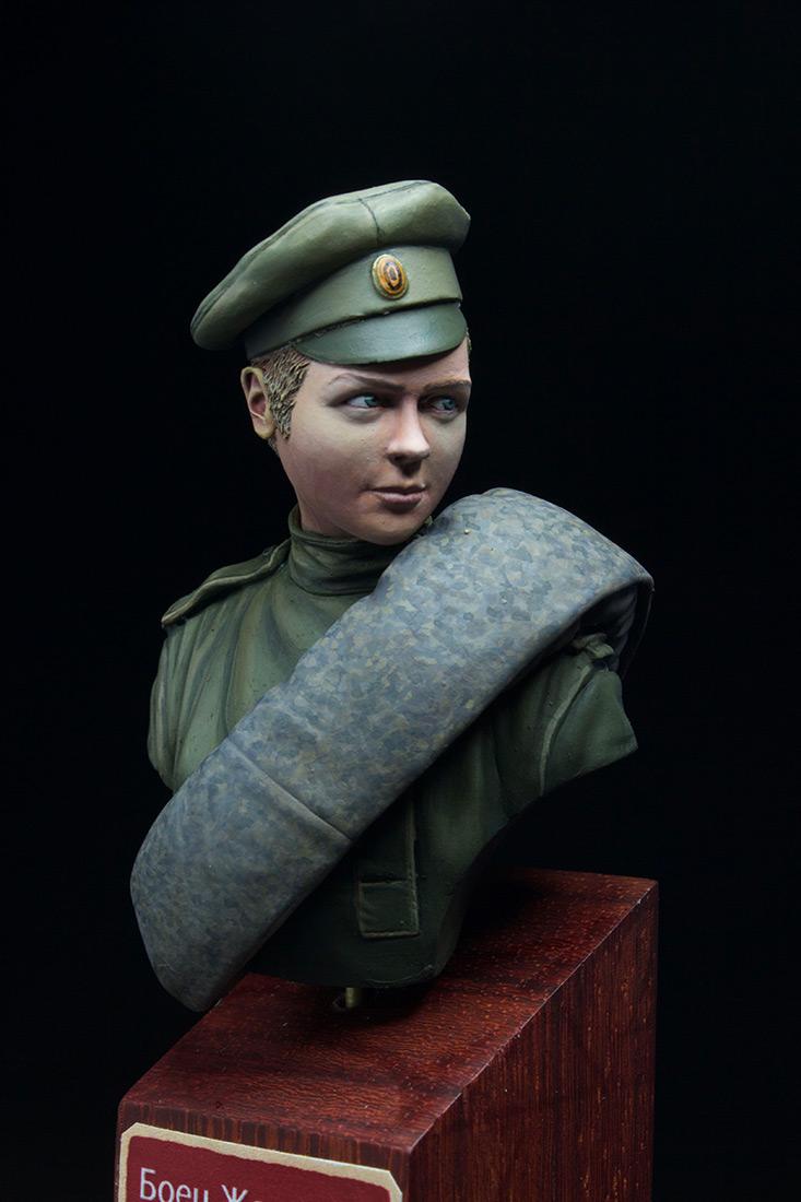 Фигурки: Боец женского батальона смерти, 1917 г., фото #8