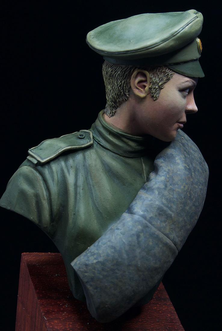 Фигурки: Боец женского батальона смерти, 1917 г., фото #9