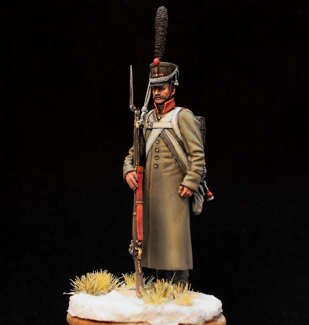 Фигурки: Русский гренадер в шинели, 1812-14 гг., фото #1
