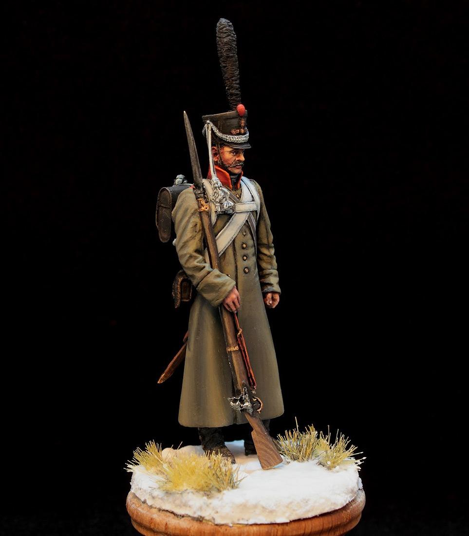 Фигурки: Русский гренадер в шинели, 1812-14 гг., фото #2