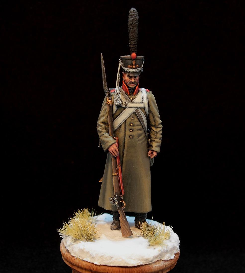 Фигурки: Русский гренадер в шинели, 1812-14 гг., фото #3