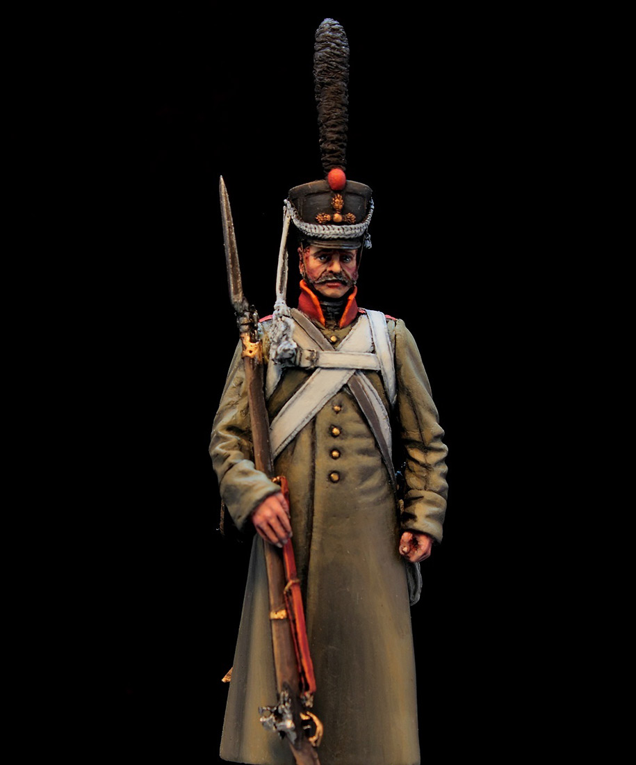 Фигурки: Русский гренадер в шинели, 1812-14 гг., фото #4