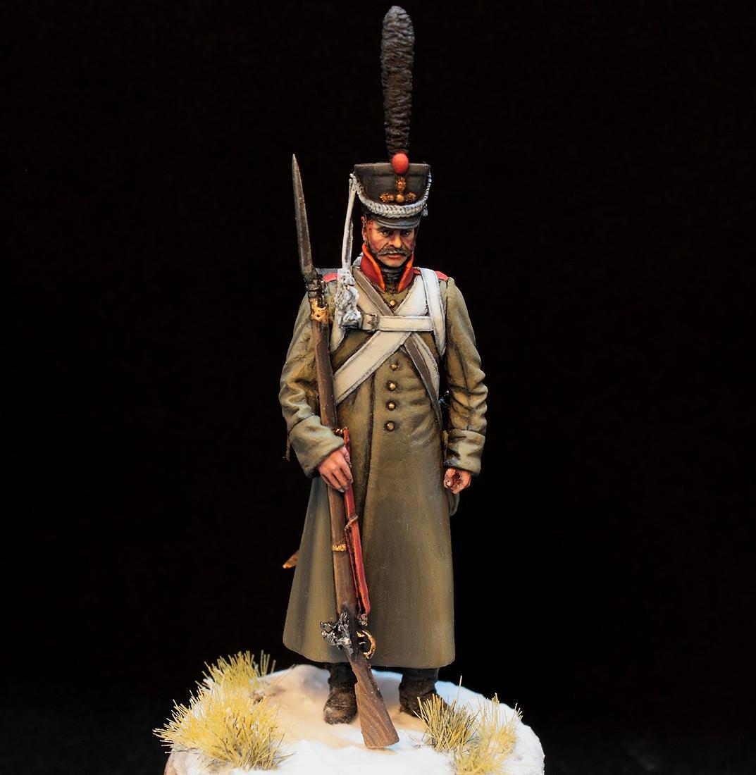 Фигурки: Русский гренадер в шинели, 1812-14 гг., фото #5