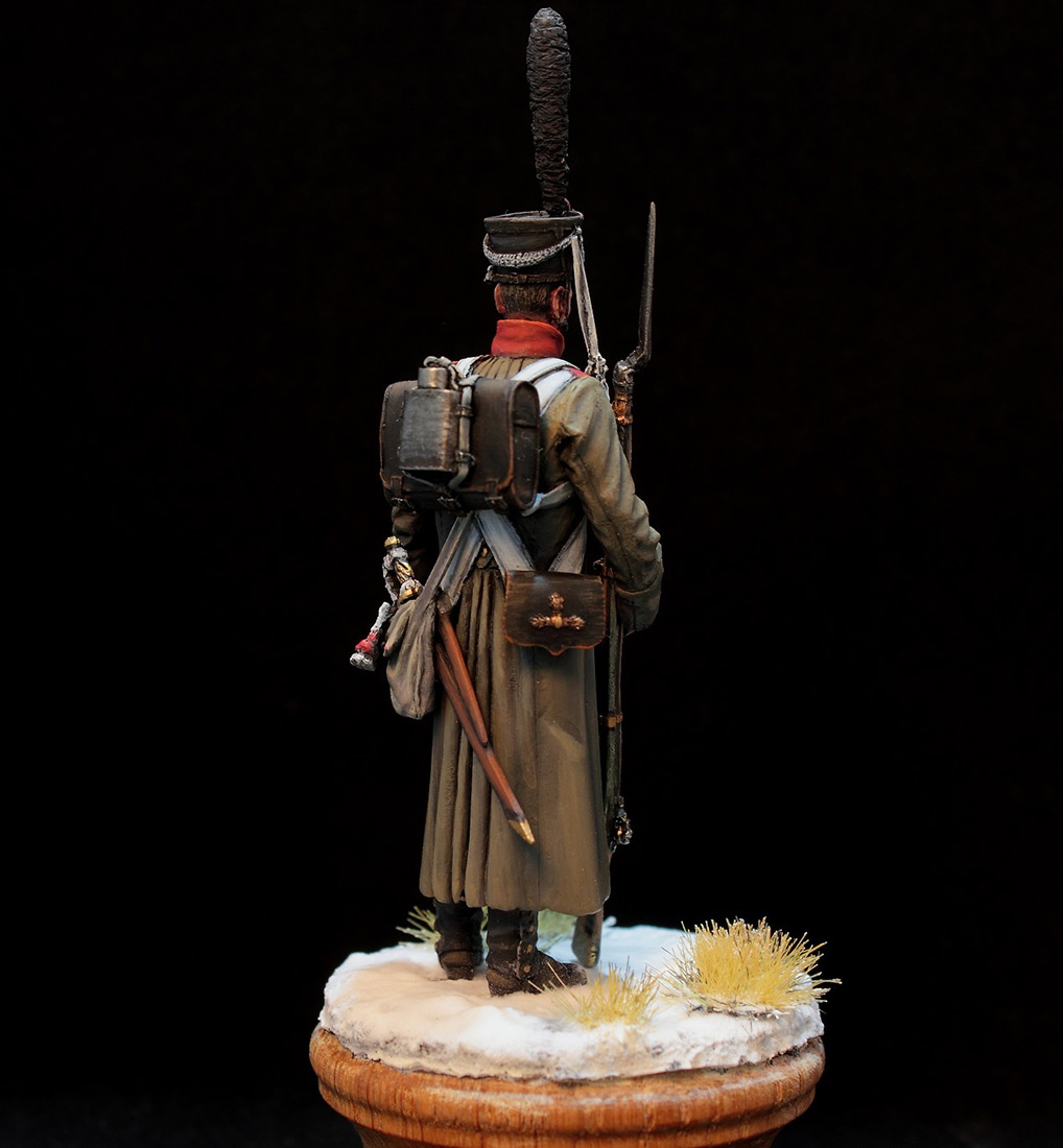 Фигурки: Русский гренадер в шинели, 1812-14 гг., фото #6