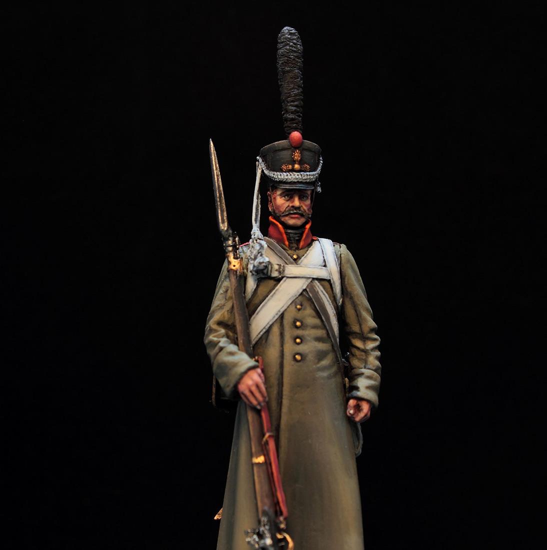 Фигурки: Русский гренадер в шинели, 1812-14 гг., фото #7