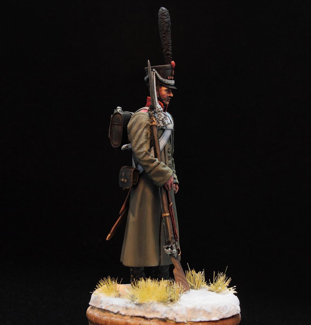 Фигурки: Русский гренадер в шинели, 1812-14 гг., фото #8