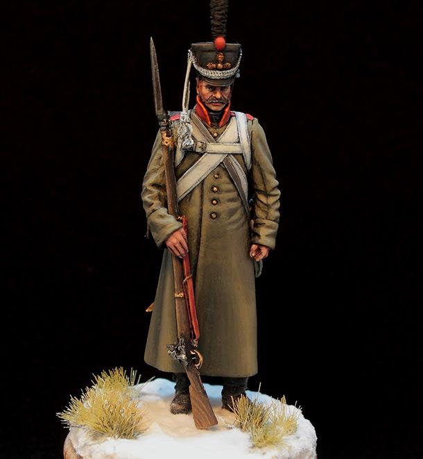 Фигурки: Русский гренадер в шинели, 1812-14 гг.