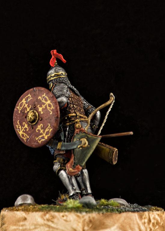 Фигурки: Монгольский воин с копьём, XIV век, фото #2