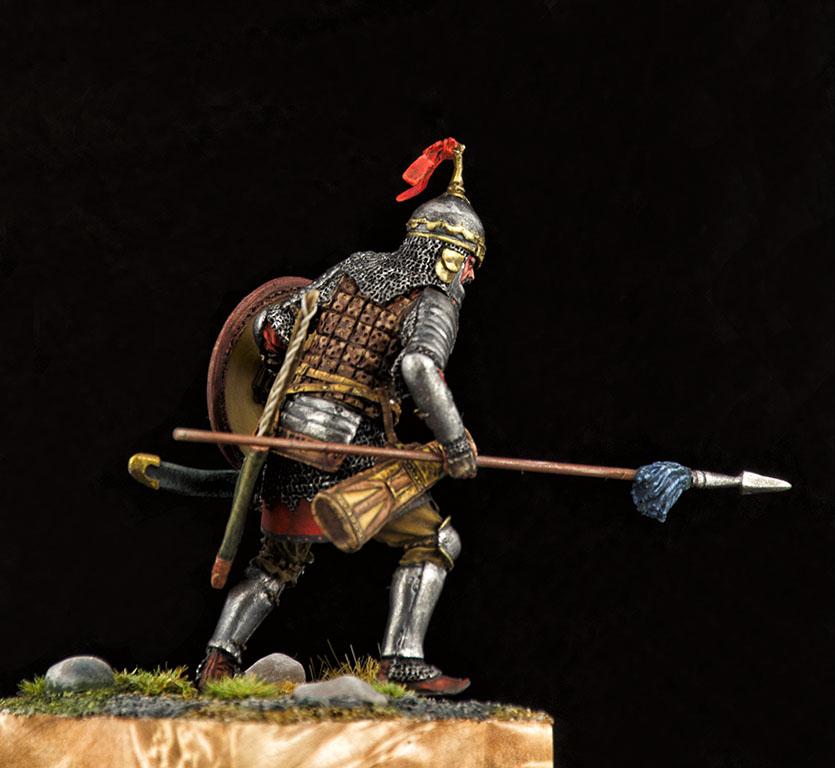 Фигурки: Монгольский воин с копьём, XIV век, фото #4