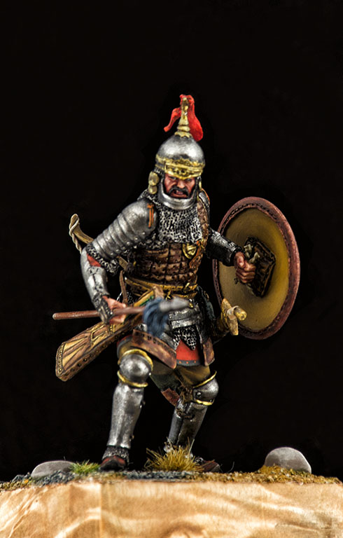 Фигурки: Монгольский воин с копьём, XIV век, фото #8