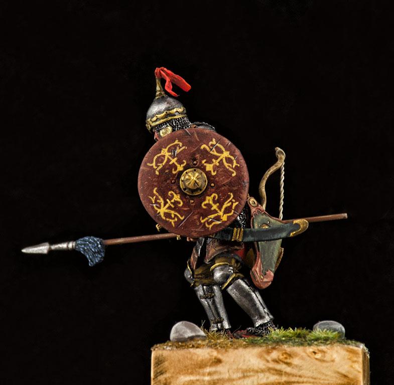 Фигурки: Монгольский воин с копьём, XIV век, фото #9