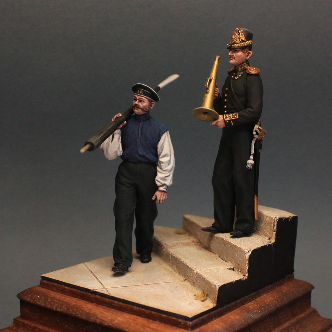 Фигурки: Гребецкая команда катера Государя Императора, 1844-55 гг., фото #2
