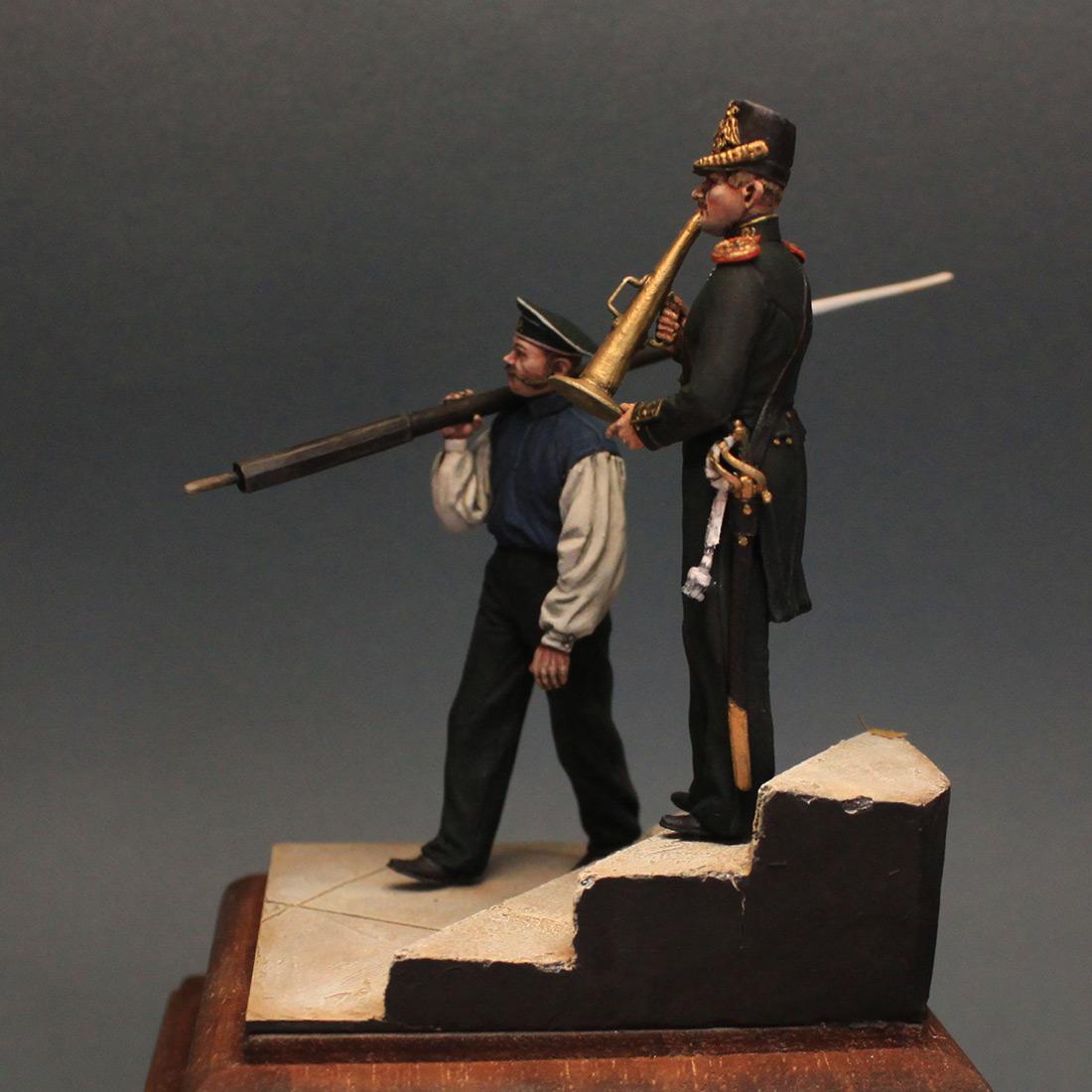 Фигурки: Гребецкая команда катера Государя Императора, 1844-55 гг., фото #3