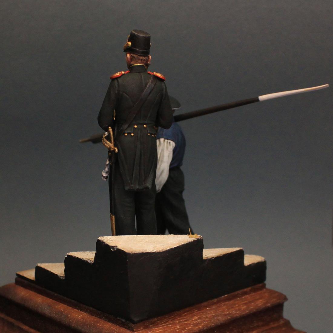 Фигурки: Гребецкая команда катера Государя Императора, 1844-55 гг., фото #4