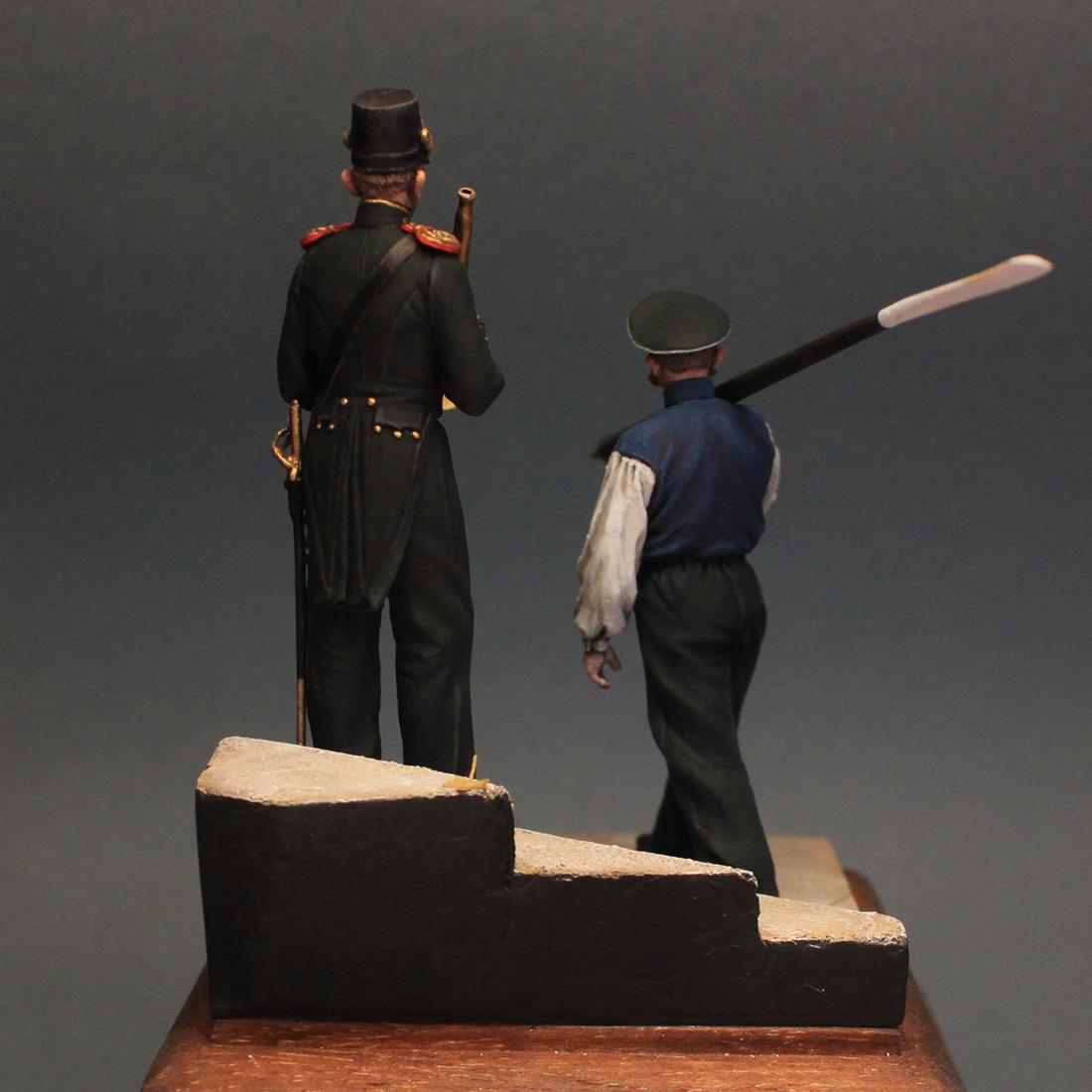 Фигурки: Гребецкая команда катера Государя Императора, 1844-55 гг., фото #5