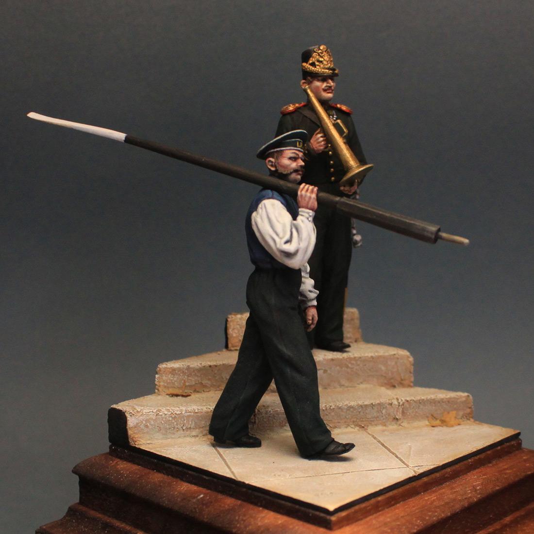 Фигурки: Гребецкая команда катера Государя Императора, 1844-55 гг., фото #8