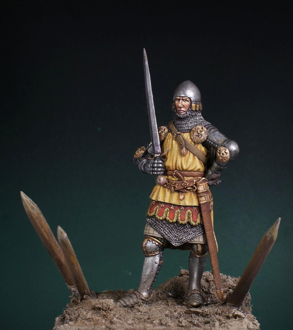 Фигурки: Английский рыцарь. Битва при Креси, фото #1