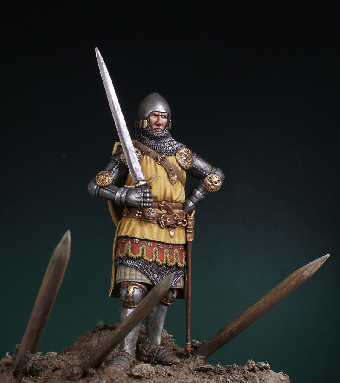Фигурки: Английский рыцарь. Битва при Креси, фото #5