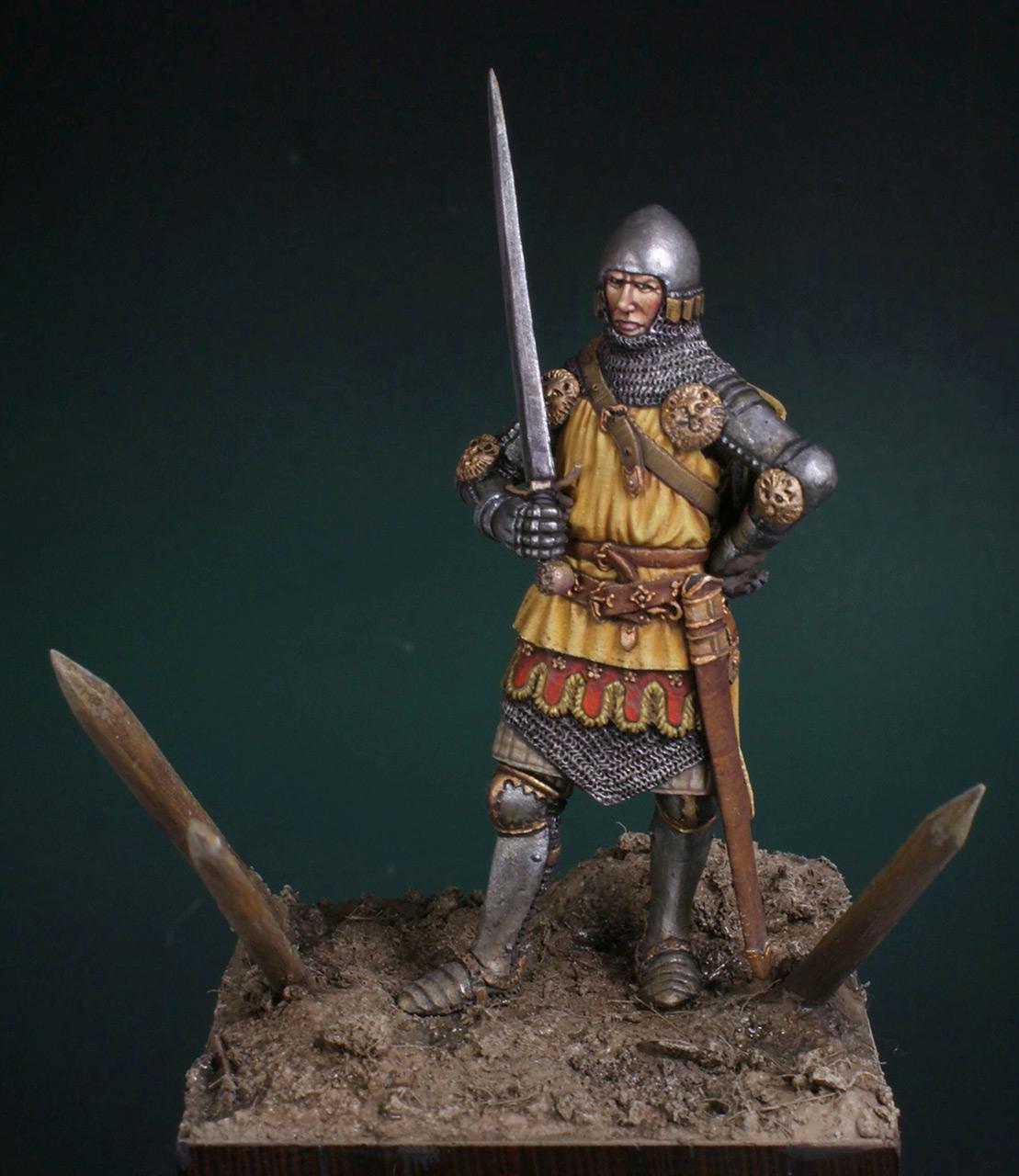 Фигурки: Английский рыцарь. Битва при Креси, фото #6