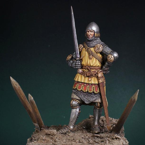 Фигурки: Английский рыцарь. Битва при Креси