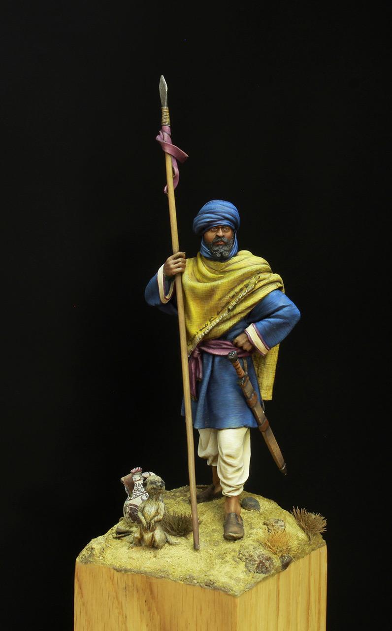 Фигурки: Берберский всадник времен Арабского халифата, фото #1