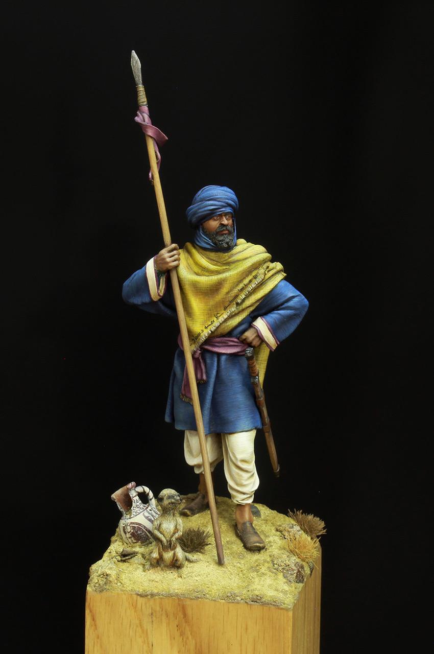 Фигурки: Берберский всадник времен Арабского халифата, фото #5