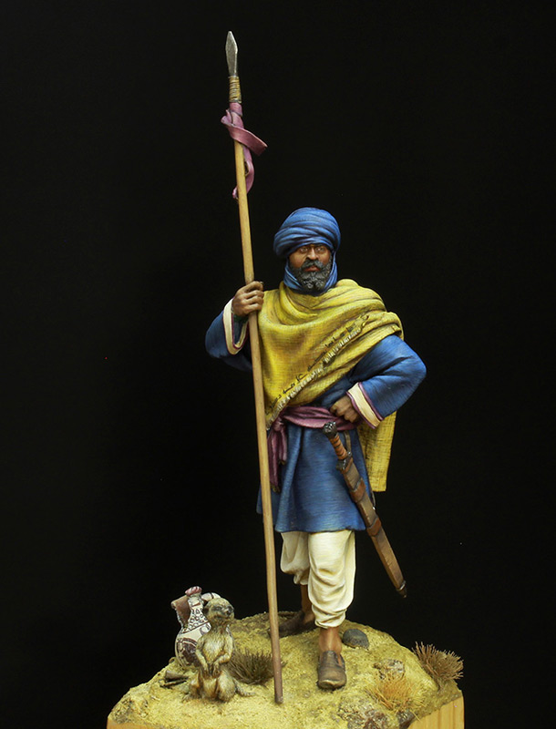 Фигурки: Берберский всадник времен Арабского халифата