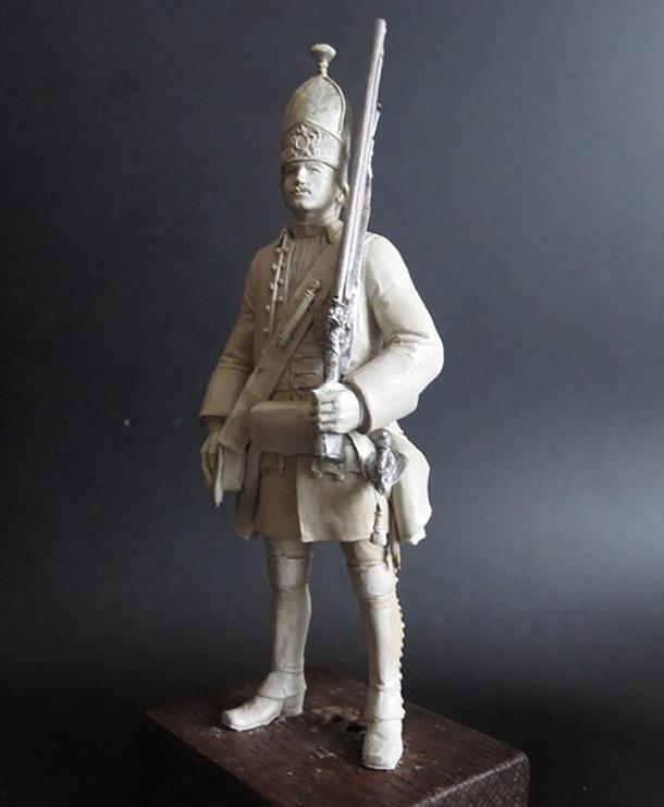 Скульптура: Гренадер, 1731-1745 гг.