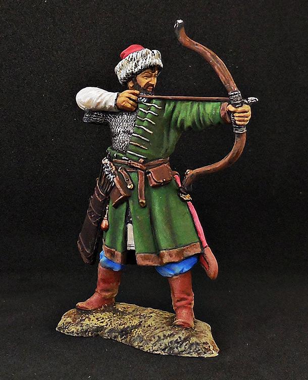 Фигурки: Русский лучник, XIV век