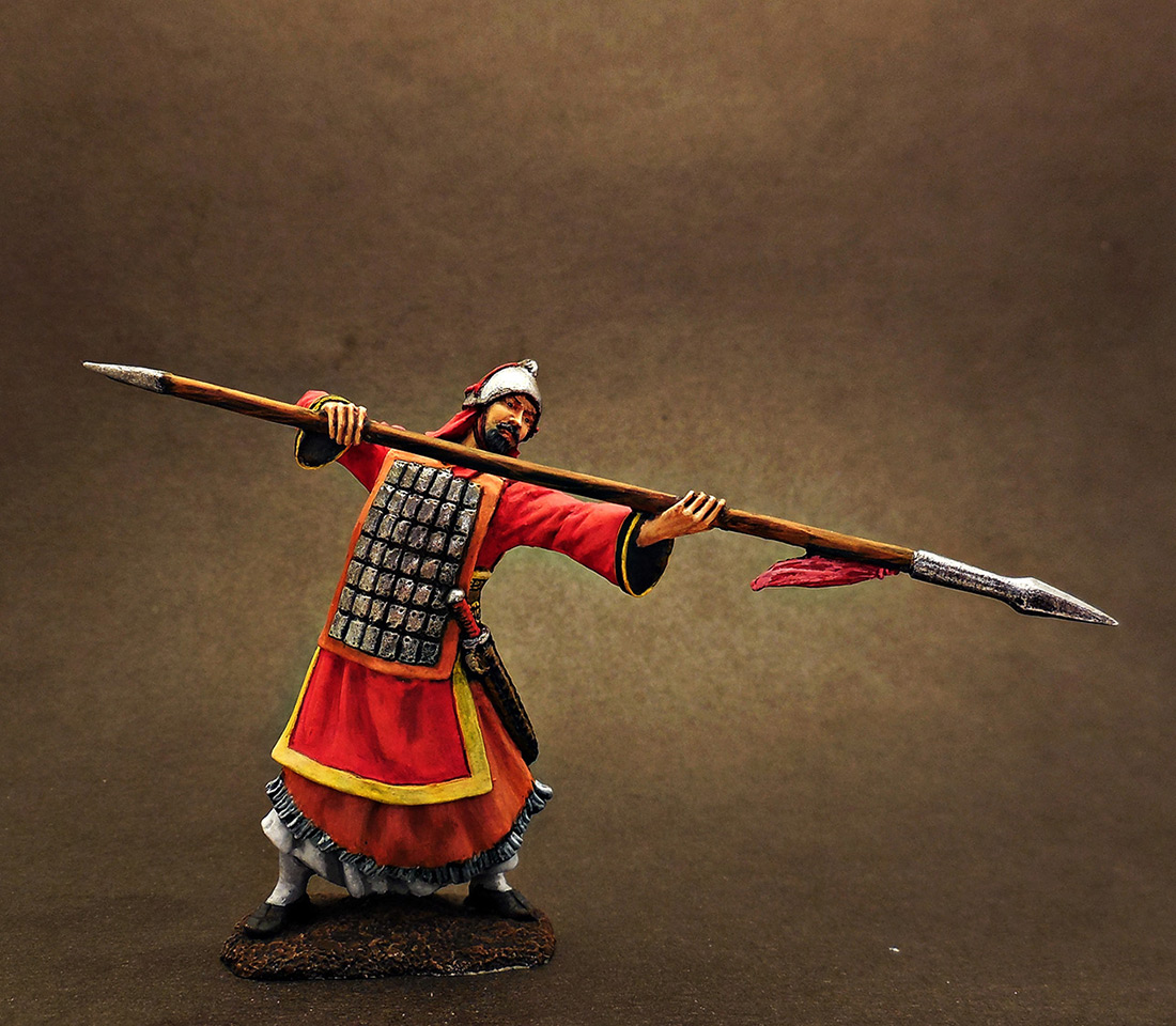 Фигурки: Древнекитайский воин, 5 в. до н.э., фото #1