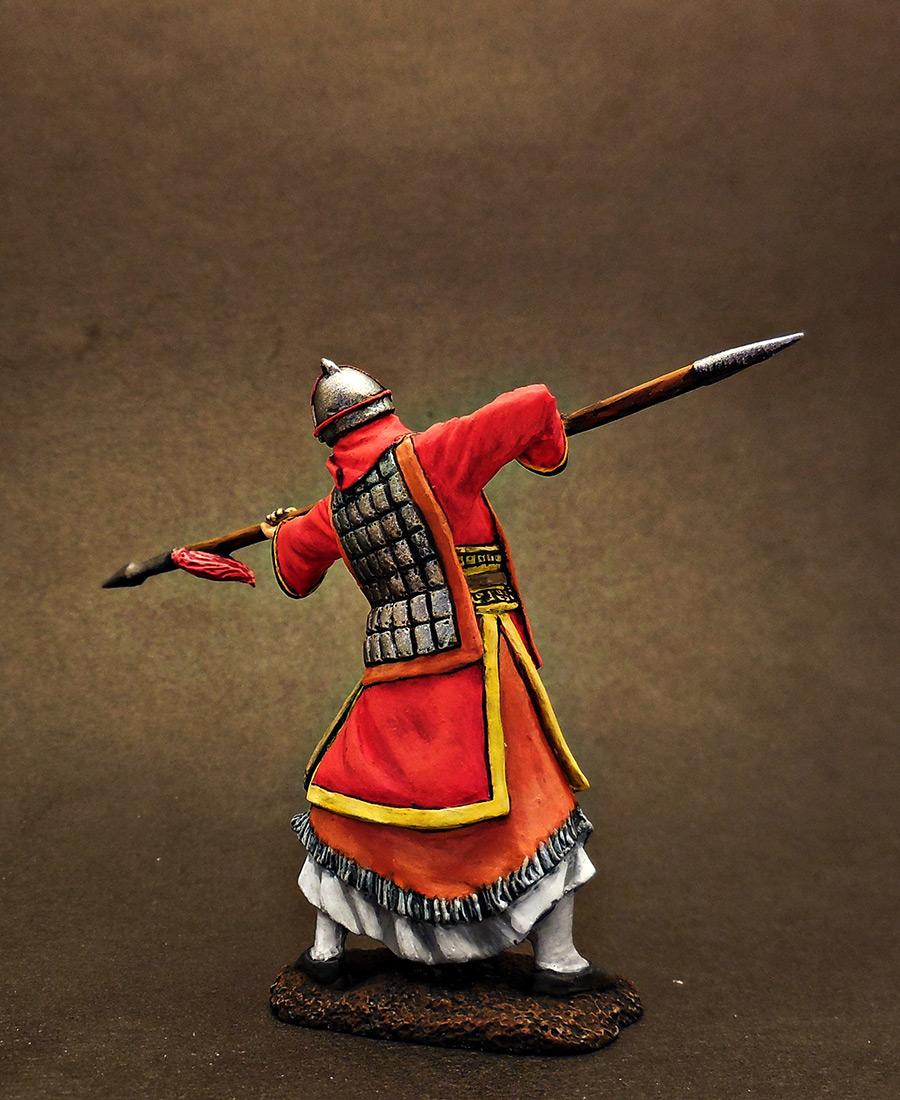 Фигурки: Древнекитайский воин, 5 в. до н.э., фото #6