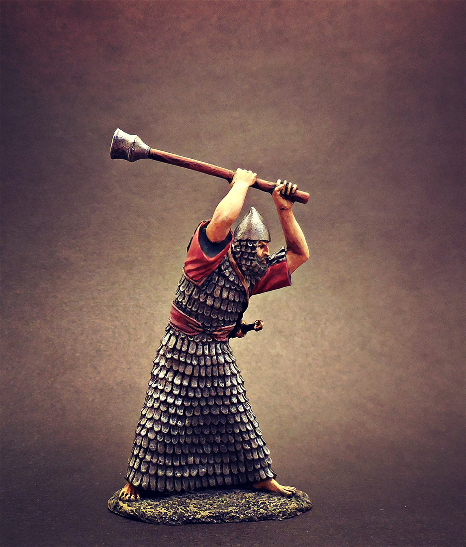 Фигурки: Ассирийский воин с булавой, фото #1