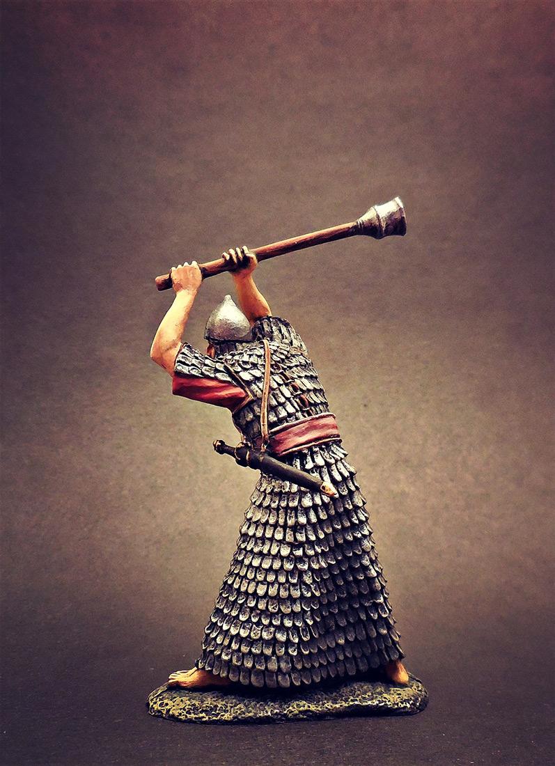 Фигурки: Ассирийский воин с булавой, фото #2