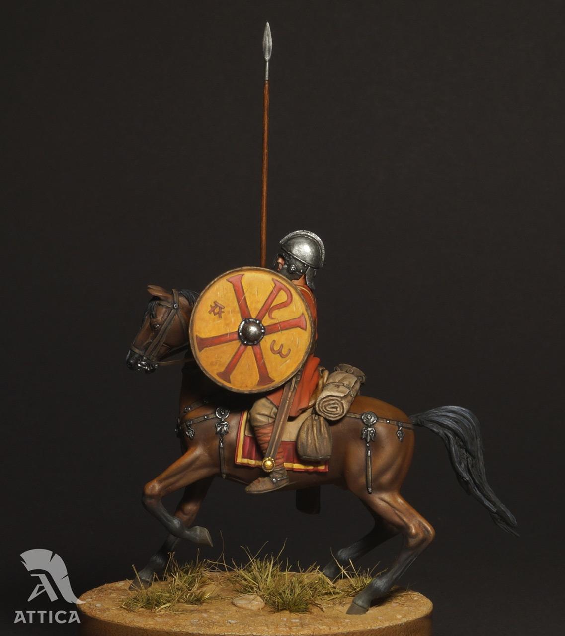 Фигурки: Римский всадник  4 в.н.э., фото #10