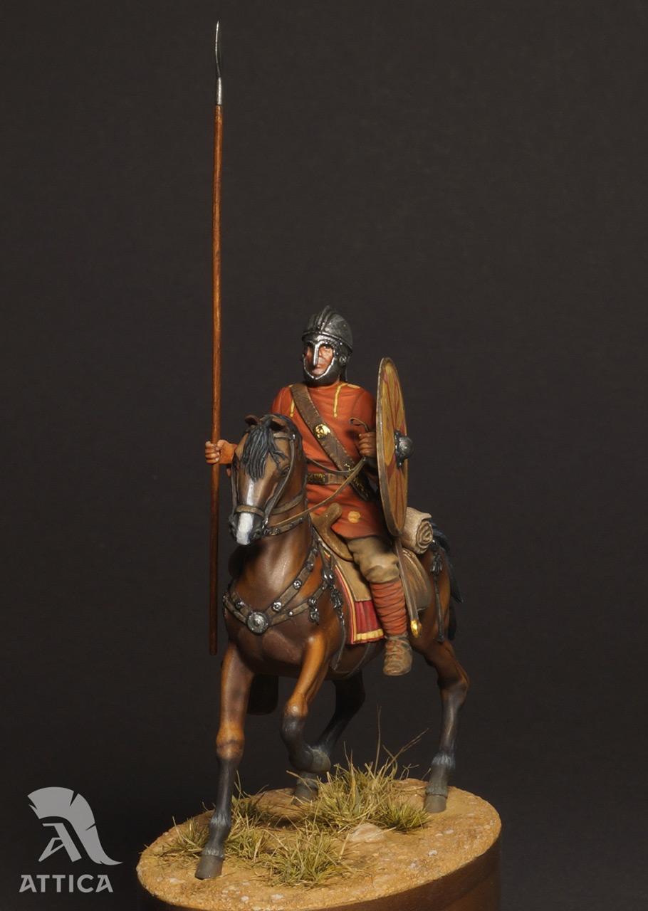 Фигурки: Римский всадник  4 в.н.э., фото #2