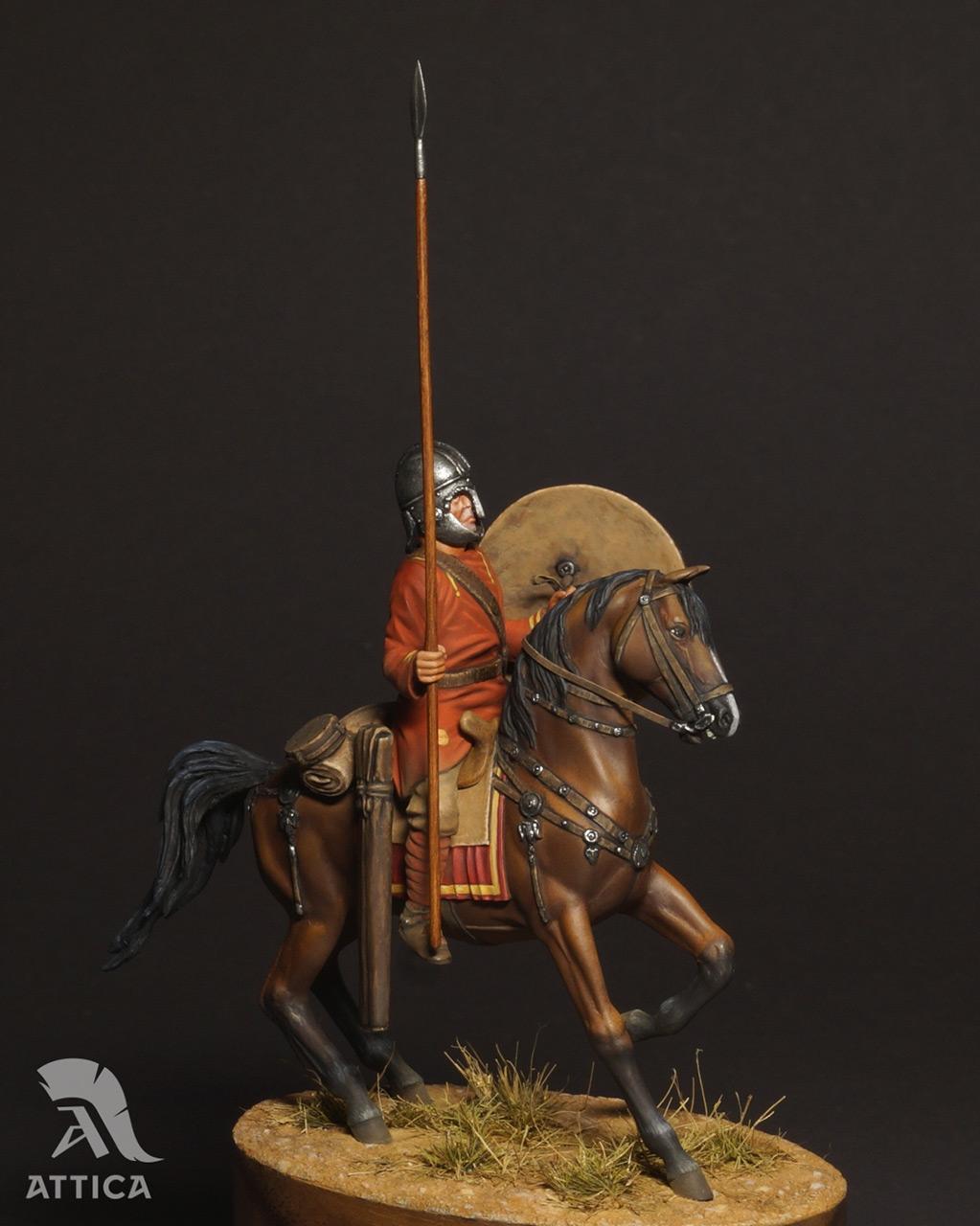 Фигурки: Римский всадник  4 в.н.э., фото #4