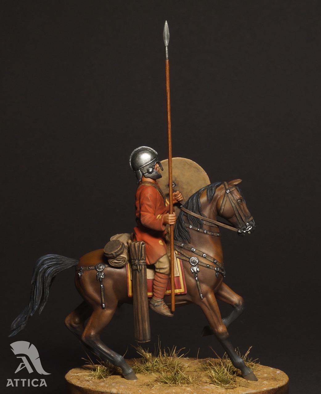 Фигурки: Римский всадник  4 в.н.э., фото #5