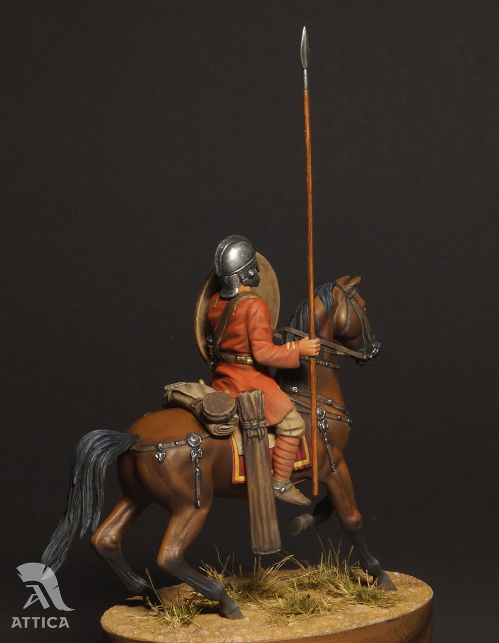 Фигурки: Римский всадник  4 в.н.э., фото #6